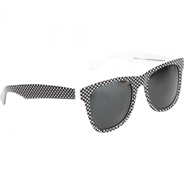 Mosley Tribes Black White Check City Sunglasses 01 Mosley Tribes Black & White Check City Sunglasses