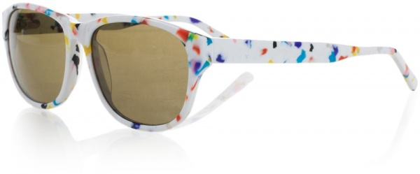 Quinny by Henrik Vibskov White Raindrop Sunglasses 01 Quinny by Henrik Vibskov White Raindrop Sunglasses