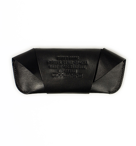 Tanner Black Eyeglass Case 1 Tanner Black Eyeglass Case