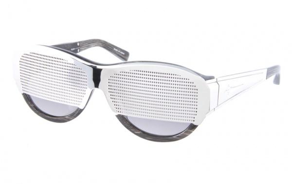 Linda Farrow Projects Todd Lynn Visor Shield Sunglasses 1 Linda Farrow Projects Todd Lynn Visor Shield Sunglasses