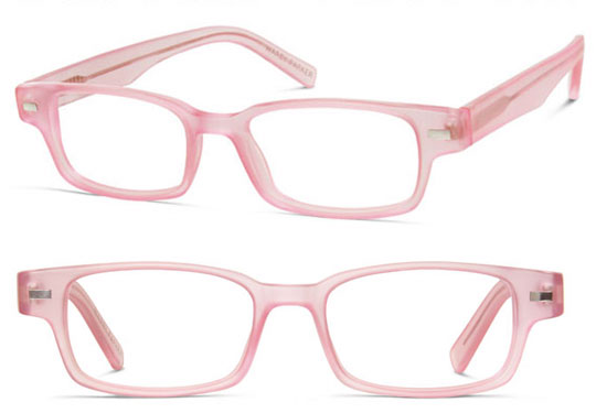 warby parker limited edition pink japhy glasses