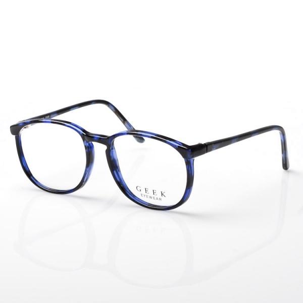 Geek Round Optical Frame in Blue Geek Round Optical Frame in Blue