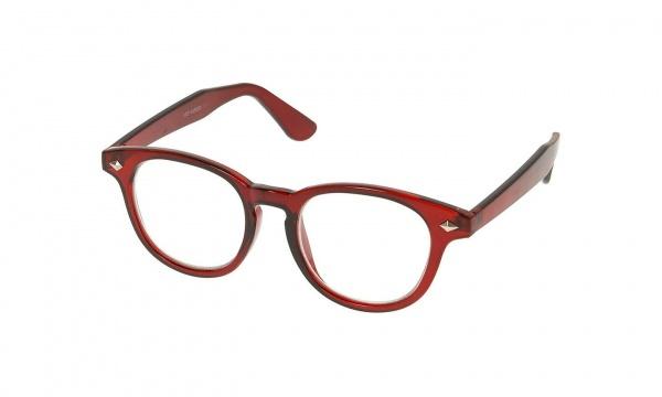Topman Red Round Geek Glasses 1 Topman Red Round Geek Glasses