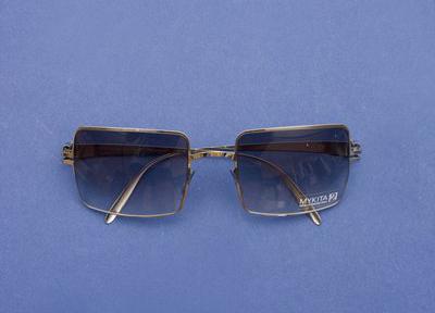 Bernhard Willhelm Mykita Uschi Square Frame Sunglasses 1 Bernhard Willhelm & Mykita Uschi Square Frame Sunglasses