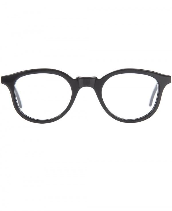 lesca black framed glasses