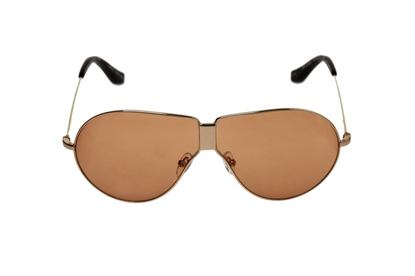 Orange Lens Aviators by Linda Farrow for Dries Van Noten 1 Orange Lens Aviators by Linda Farrow for Dries Van Noten