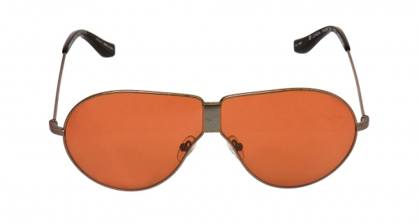 Red Lens Aviators by Linda Farrow for Dries Van Noten 1 Red Lens Aviators by Linda Farrow for Dries Van Noten
