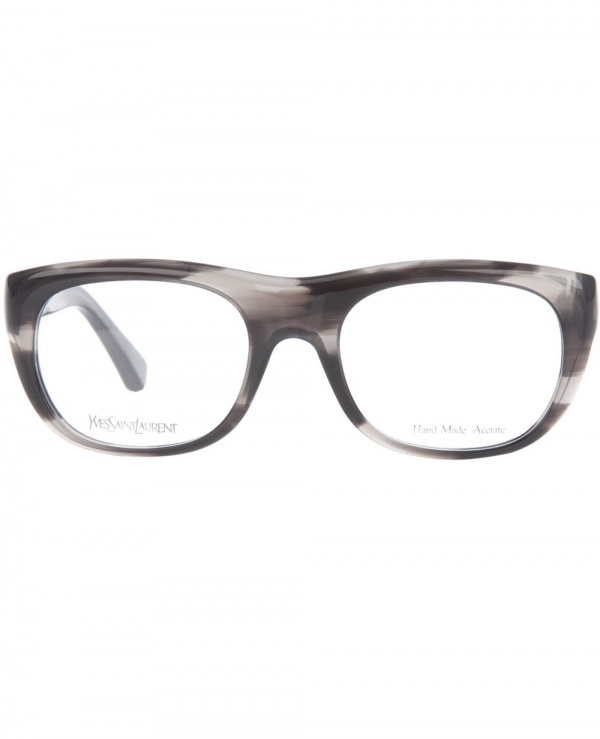 Yves Saint Laurent Glasses with Faded Detail Frame Geek