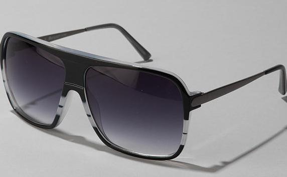 Dink Striped Aviators Dink Striped Aviator Sunglasses