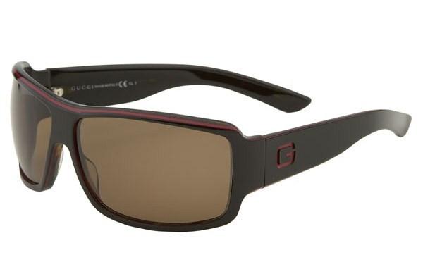 Gucci Logo Temple Square Framed Sunglasses Gucci Logo Temple Square Framed Sunglasses