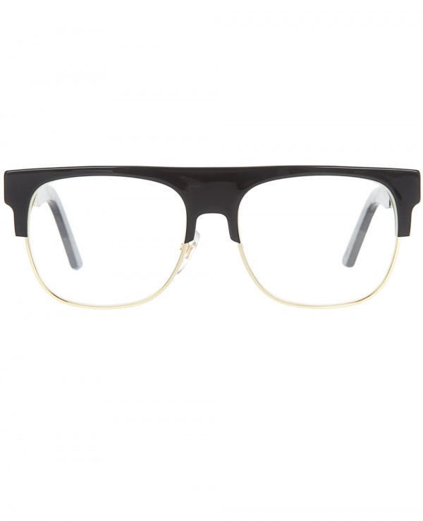 Super Half Rim Glasses Frame Geek