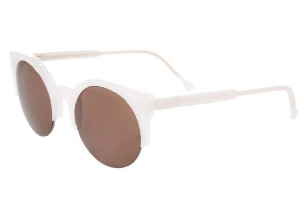 Super Half Rim Round Sunglasses Super Half Rim Round Sunglasses