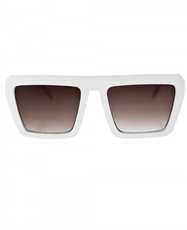 ute ploier square frame sunglasses