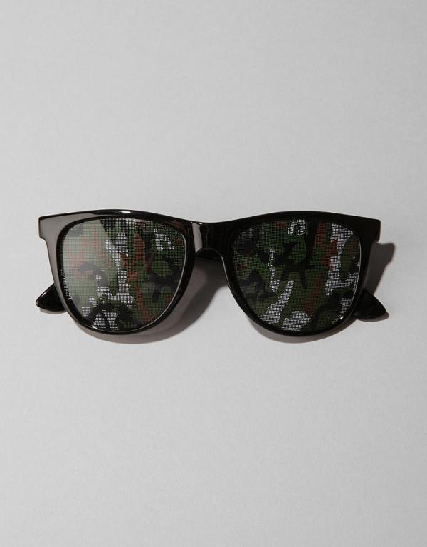 Camo Front Wayfarer Sunglasses 1 Camo Front Wayfarer Sunglasses