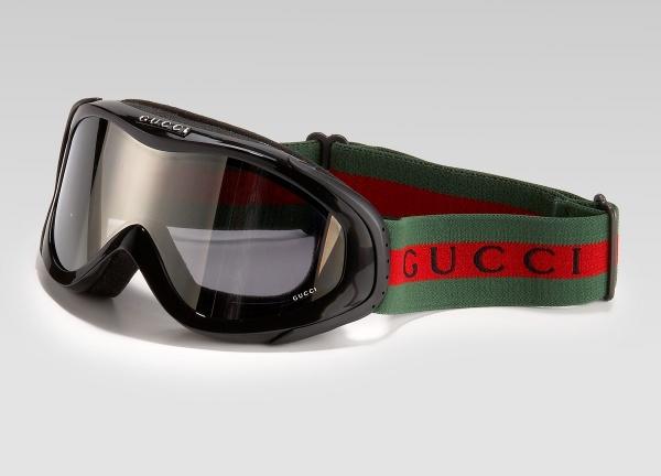Gucci Logo Strap Ski Goggles Gucci Logo Strap Ski Goggles