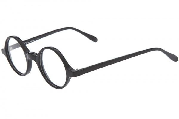 Lesca Round Framed Glasses Lesca Round Framed Black Glasses