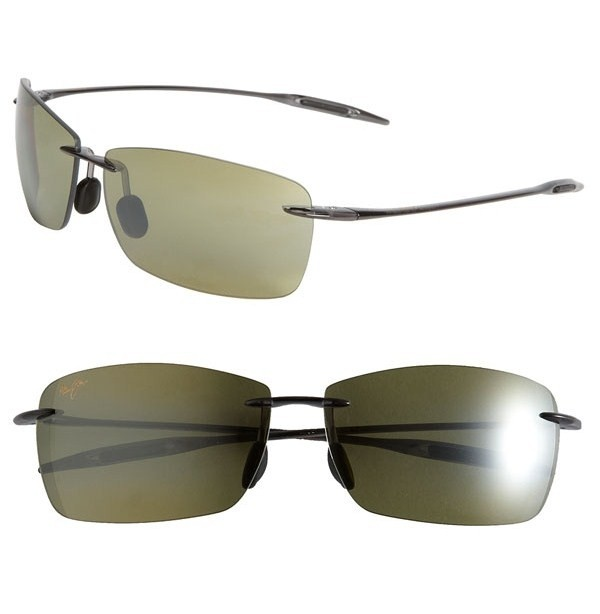 Maui Jim Lighthouse Wireless Sunglasses Maui Jim Lighthouse Rimless Sunglasses