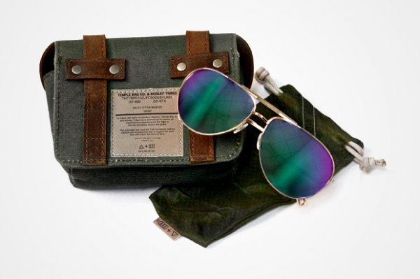Mosley Tribes Temple Bags Co. for Barneys CO OP Sunglasses Case Mosley Tribes & Temple Bags Co. for Barneys CO OP Sunglasses Case