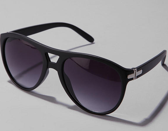 Stevie Matte Aviator Sunglasses Stevie Matte Aviator Sunglasses