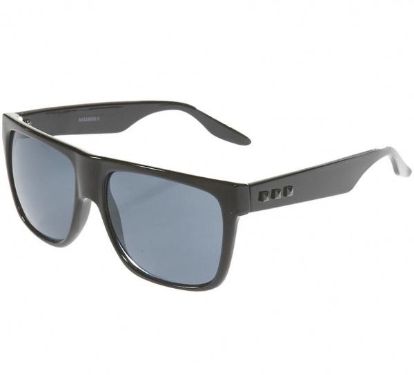 Topman Sunglasses  topman black side stud sunglasses frame geek