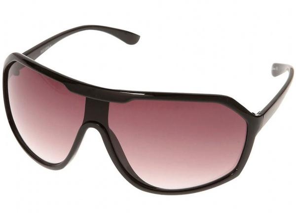 sunglasses wrap  Topman Black Sports Wrap Sunglasses