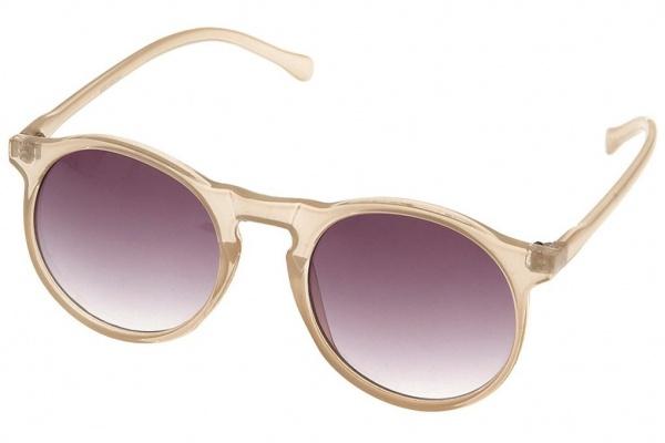 Topman Khaki Circular Sunglasses Topman Khaki Circular Sunglasses