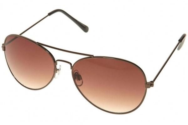 Topman Mocha Classic Visor Sunglasses Topman Mocha Classic Visor Sunglasses