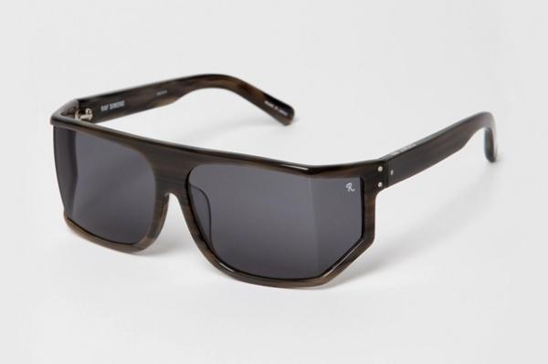 raf simons linda farrow geometric sunglasses Raf Simons x Linda Farrow Geometric Sunglasses