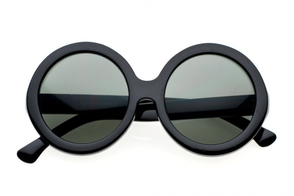 80s Collection Le Vash Round Sunglasses 1 80s Collection 'Le Vash' Round Sunglasses