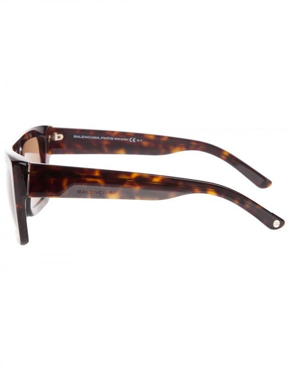 balenciaga square frame sunglasses
