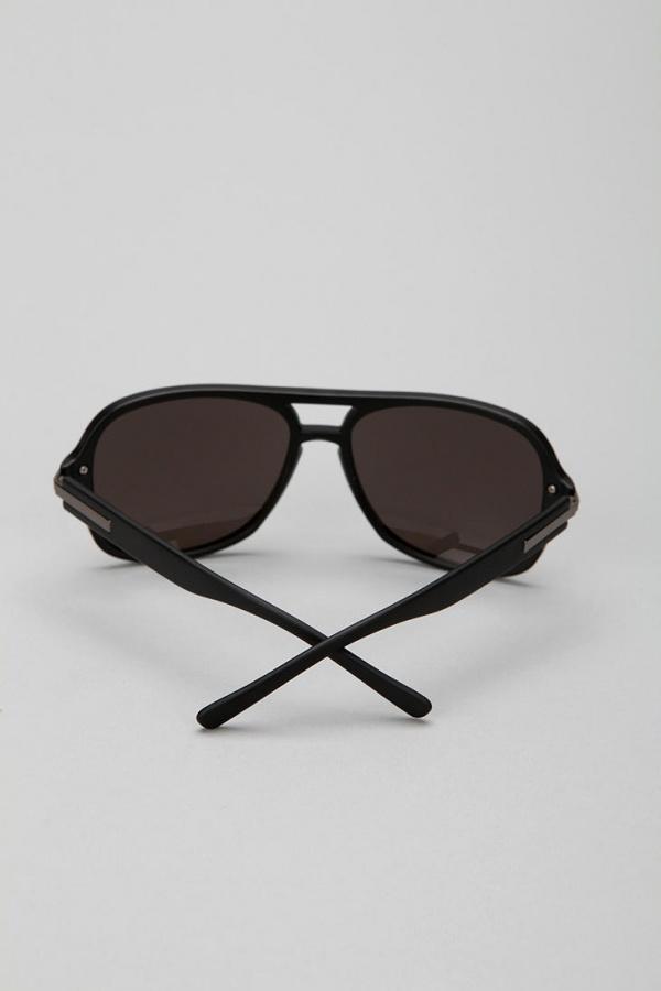 square aviator sunglasses  Charles Square Aviator Sunglasses