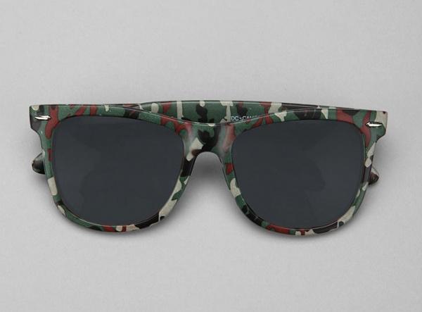 DC Camo Wayfarer Sunglasses 1 DC Camo Wayfarer Sunglasses