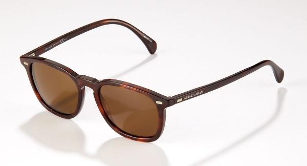 Giorgio Armani Round Sunglasses Giorgio Armani Brown Round Sunglasses