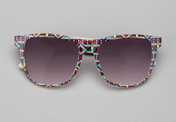 Navajo Pattern Wayfarer Sunglasses 1 Navajo Pattern Wayfarer Sunglasses