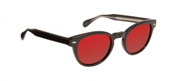 Oliver Peoples Sheldrake in Red Black Oliver Peoples Sheldrake in Red & Black