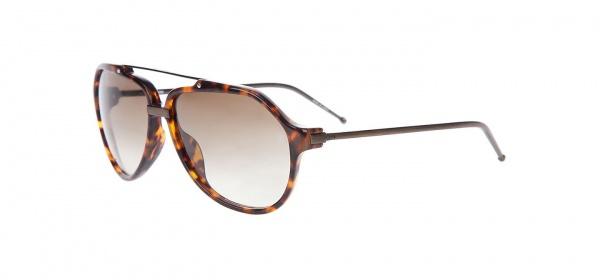 Raf Simons Tortiseshell Aviator Sunglasses 1 Raf Simons Tortiseshell Aviator Sunglasses