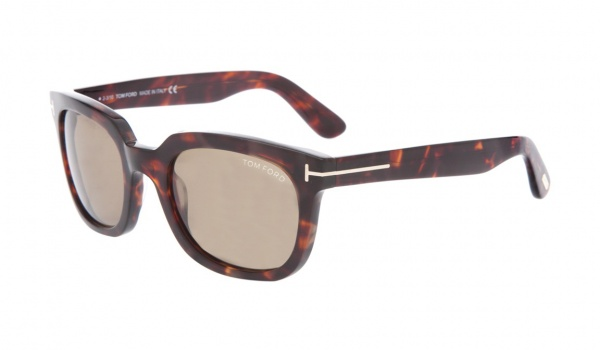 Thick Framed Sunglasses in Tortoiseshell by Tom Ford 1 Thick Framed Sunglasses in Tortoiseshell by Tom Ford
