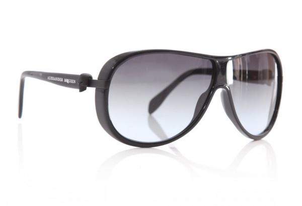 Alexander McQueen Black Skull Sunglasses 1 Alexander McQueen Black Skull Sunglasses