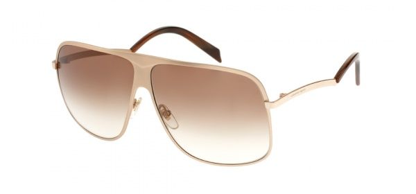Alexander McQueen Kink Arm Aviator Sunglasses Alexander McQueen Kink Arm Aviator Sunglasses