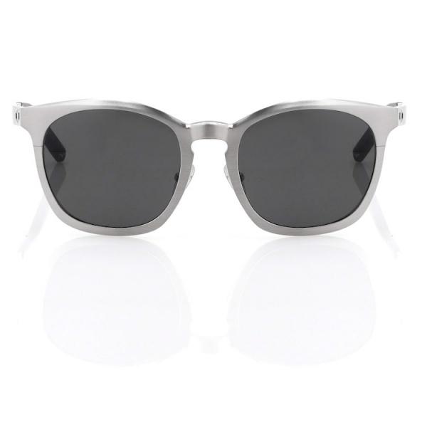 45bde1f955 Alexander Wang 5C2 Square Silver Metal Sunglasses 2
