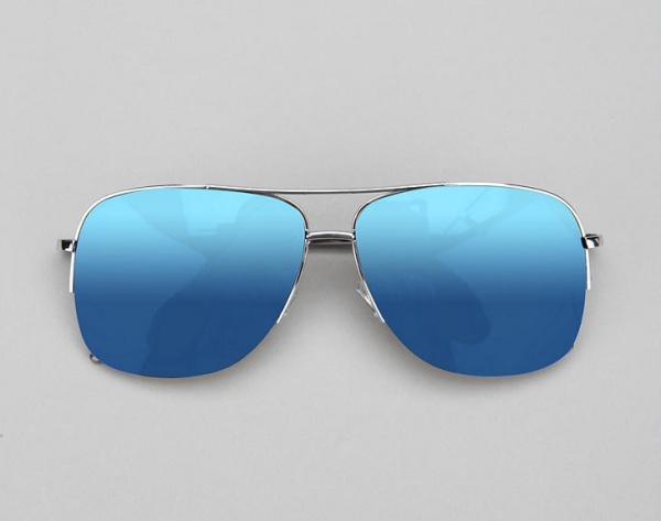 Capitol Mirrored Aviator Sunglasses 1 Capitol Mirrored Aviator Sunglasses