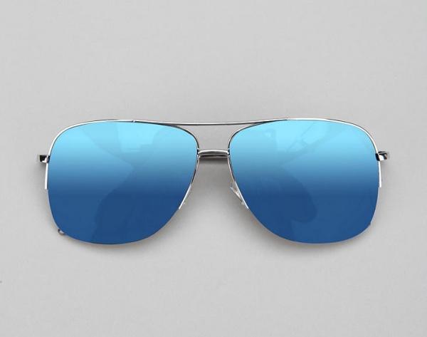 Capitol Mirrored Aviator Sunglasses 1 Capitol Mirrored Aviator Sunglasses