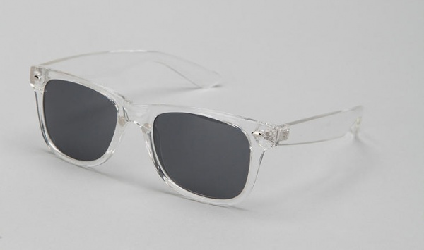 Clear Wayfarer Sunglasses 1 Clear Wayfarer Sunglasses