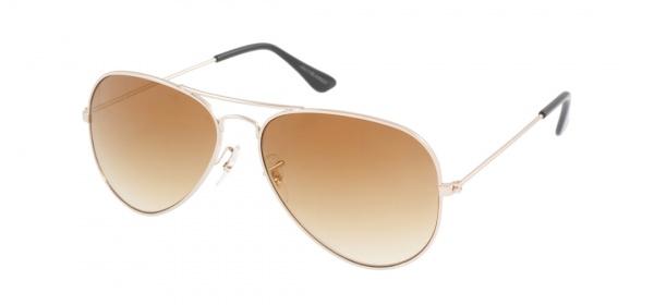 Jack Jones Gold Aviator Sunglasses Jack & Jones Gold Aviator Sunglasses