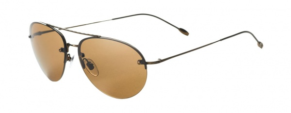 John Varvatos Semi Rimless Aviator Sunglasses John Varvatos Semi Rimless Aviator Sunglasses