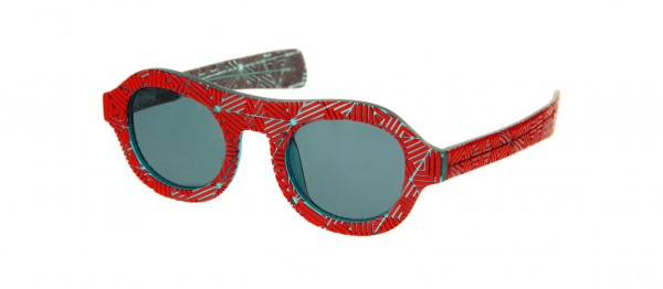 Linda Farrow Projects David David Patterned Sunglasses 1 Linda Farrow Projects David David Patterned Sunglasses