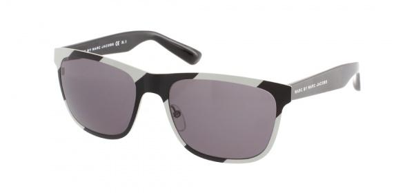 Marc By Marc Jacobs Black White Wayfarer Sunglasses 1 Marc By Marc Jacobs Black & White Wayfarer Sunglasses