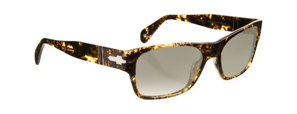 Persol Rectangle Frame in Spotted Yellow Persol Rectangle Frame in Spotted Yellow