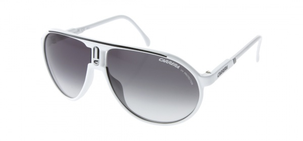 Carrera Champion Aviator Sunglasses Carrera Champion Aviator Sunglasses in White