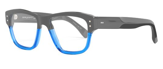 Claire Goldsmith Blue Black Claire Goldsmith Carter Frame in Blue